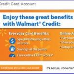 Pay Walmart Credit Card Online