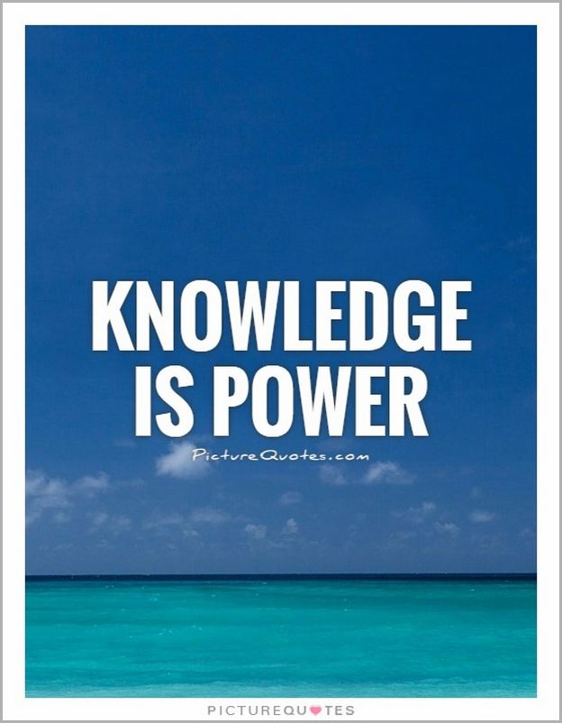 Quotes About Knowledge And Power