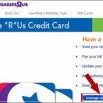 R Us Credit Card Login