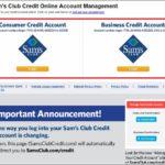 Sam's Club Credit Card Login Consumer