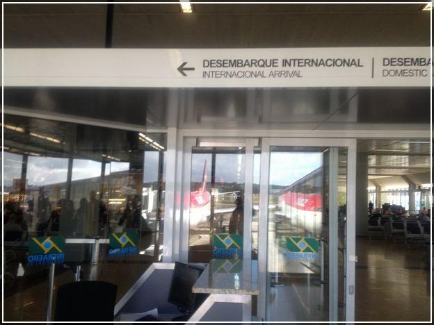 Sao Paulo Airport Arrival