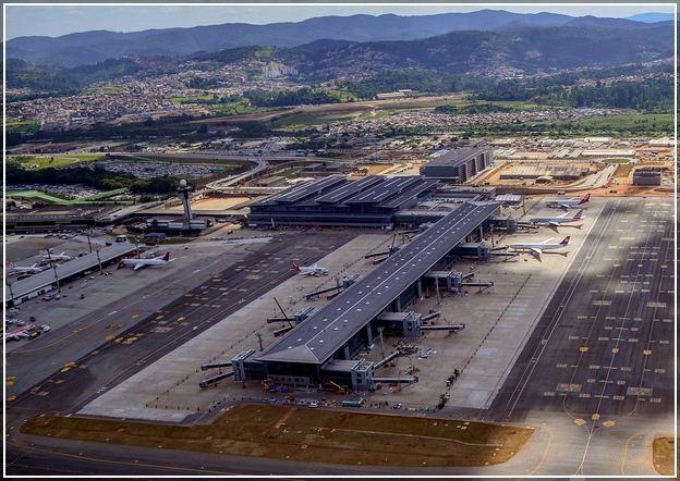 Sao Paulo Airport Gru