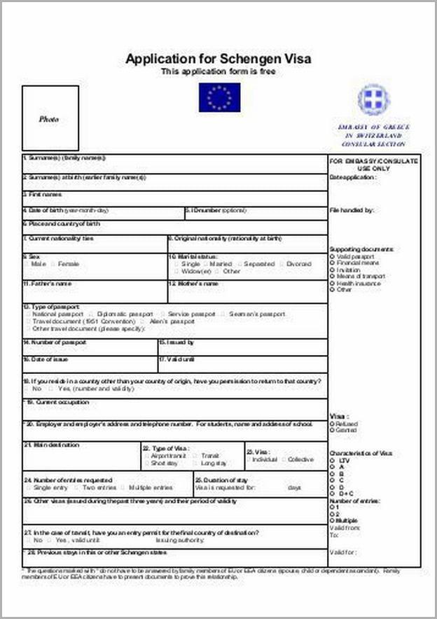 Schengen Visa Application Cape Town