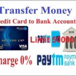 Send Money From Credit Card To Bank Account Instantly
