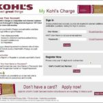 Sign Up For Kohl's Credit Card