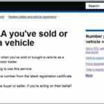 Sold My Car Dvla