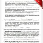 Standard Lease Agreement Texas