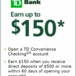Td Bank Business Checking Promotion