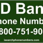 Td Bank Car Loan Number
