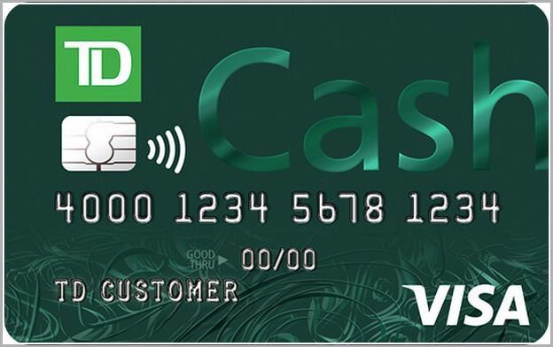 call td bank credit card