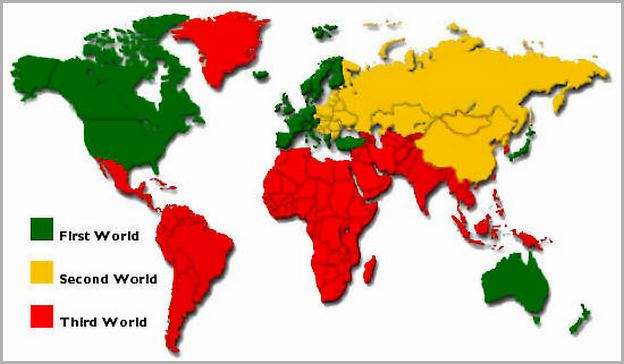 Third World Countries List India