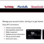 Tjx Credit Card Payment Online Login