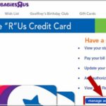 Toys R Us Credit Card Login