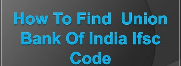 Union Bank Of India Ifsc Code