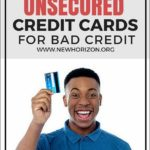 Unsecured Credit Cards For Poor Credit