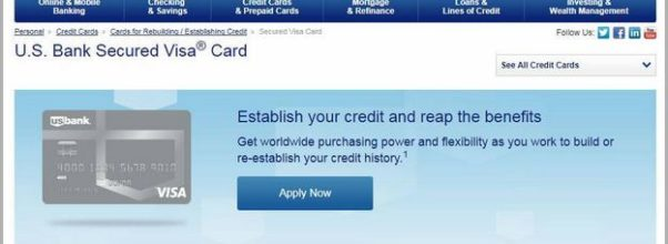 Us Bank Secured Credit Card Requirements