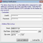 Usps Verify Address Api