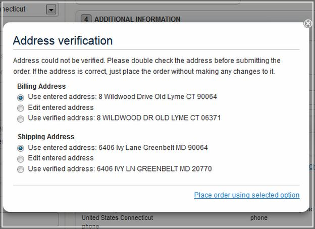Usps Verify Single Address