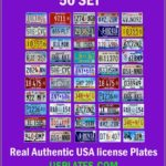 Value My Car Registration Number Plate