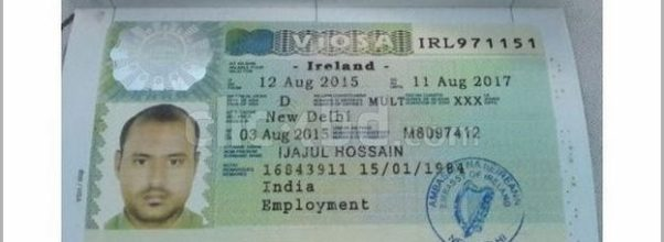 Visa For India From Ireland