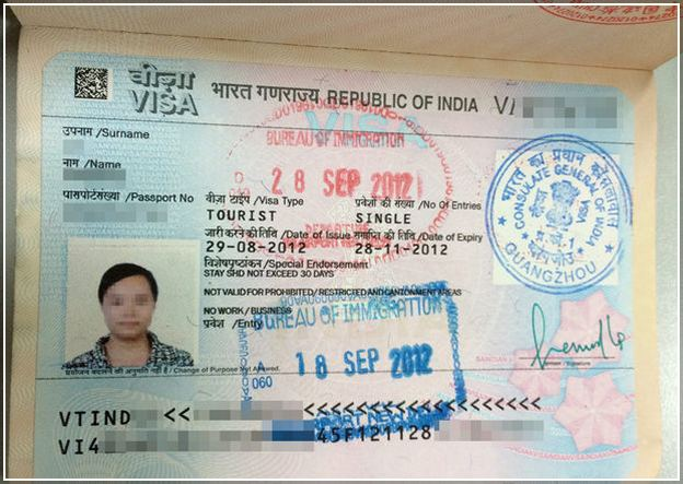 Visa For India From Usa