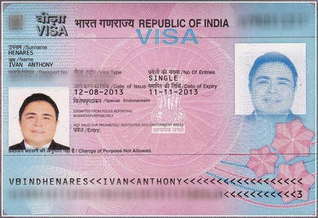 Visa For India