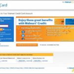 Walmart Credit Card Account Sign In