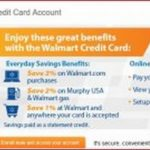 Walmart Credit Card Balance Login
