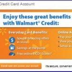 Walmart Credit Card Payment Online