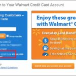 Walmart Credit Card Sign In Account