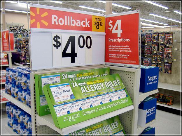 Walmart Pharmacy Price List