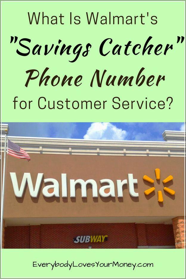 Walmart Savings Catcher Customer Service Contact
