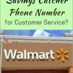 Walmart Savings Catcher Customer Service Telephone Number