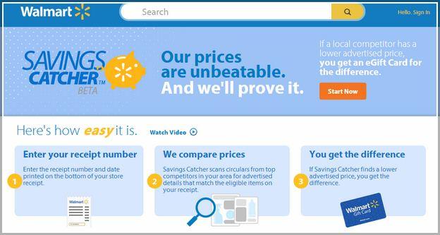 Walmart Savings Catcher Won't Let Me Log In