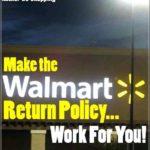 Walmart Store Pickup Return Policy