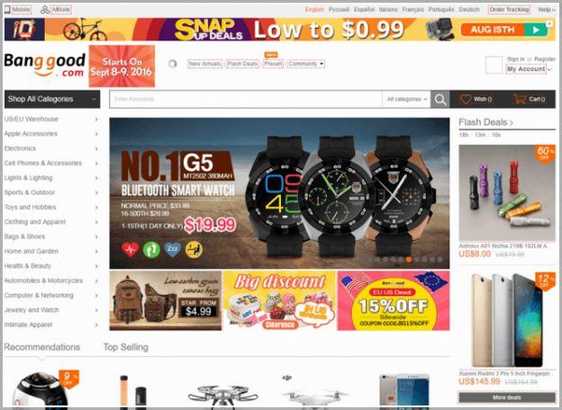 Websites Like Wish And Aliexpress