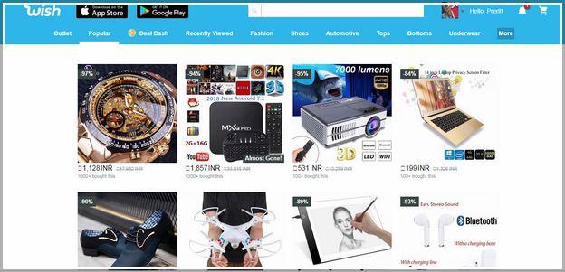 Websites Like Wish