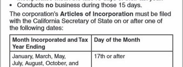 When Is The Last Day To File Taxes In California