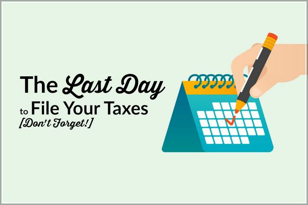 When Is The Last Day To File Taxes